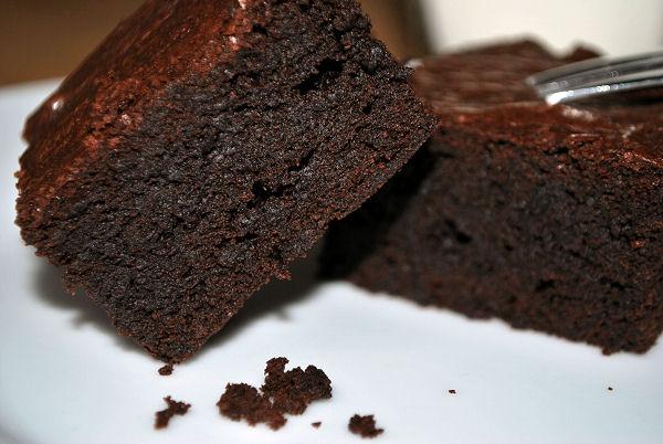 Saftig Schokoladige Brownies Kaffee Cupcakes