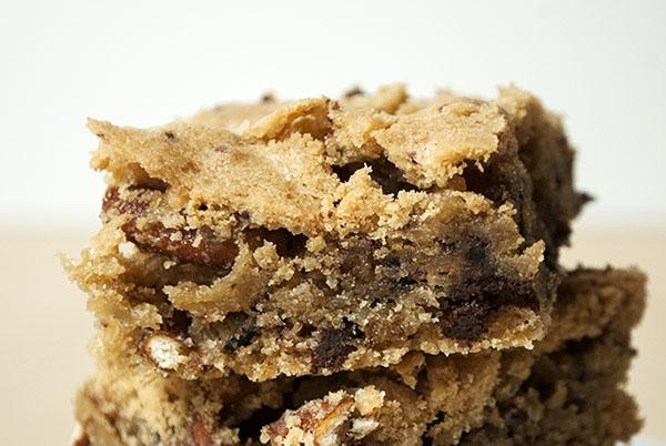 Schoko-Cookie-Brezel-Bars