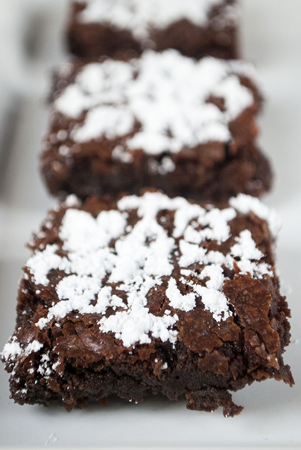 Traditionelle Brownies aus der Hummingbird Bakery