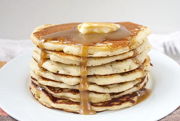Amerikanische Pancakes Kaffee Cupcakes