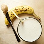 Bananen-Erdnussbutter-Smoothie