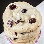 Weiße-Schoko-Cranberry-Cookies