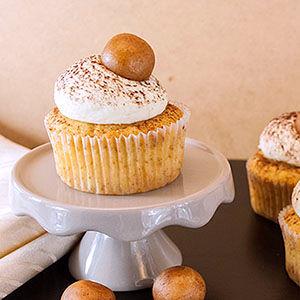 Apfel-Marzipan-Cupcakes