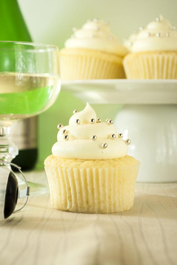 Sekt-Cupcakes
