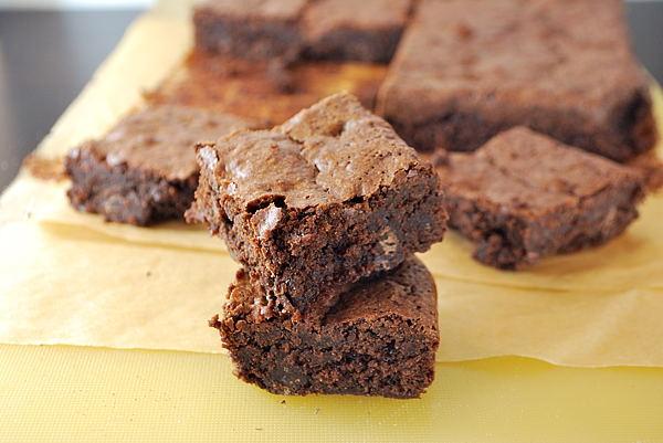 Glutenfreie Brownies (mit Mandeln)