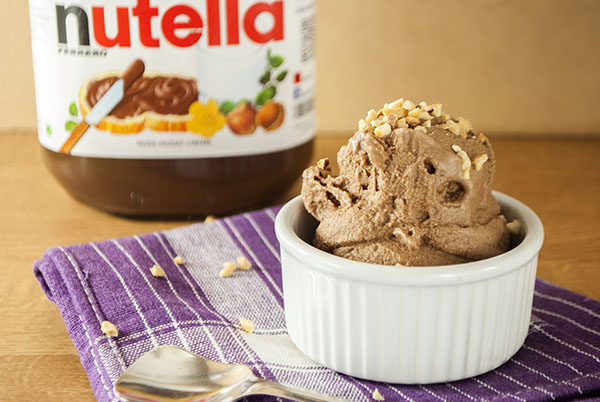 Nutella-Eiscreme aus nur zwei Zutaten