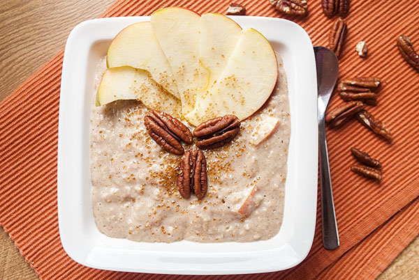 Apfelkuchen-Oatmeal