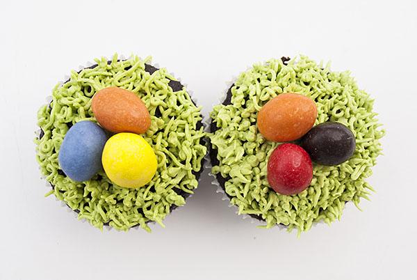 Ostereier-Cupcakes