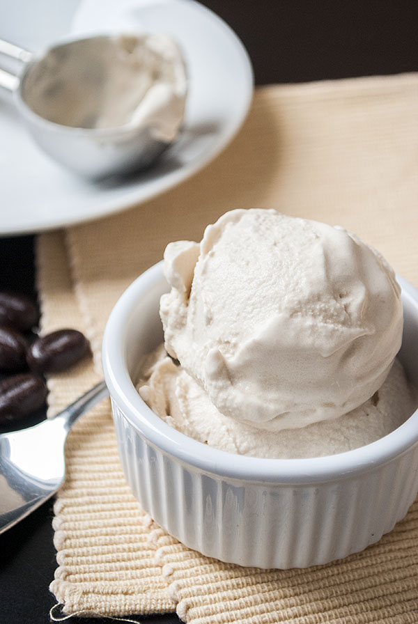 Veganes Kaffee-Eis