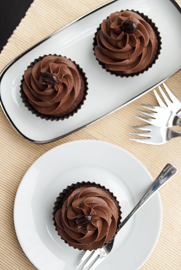 Schokoccino-Cupcakes