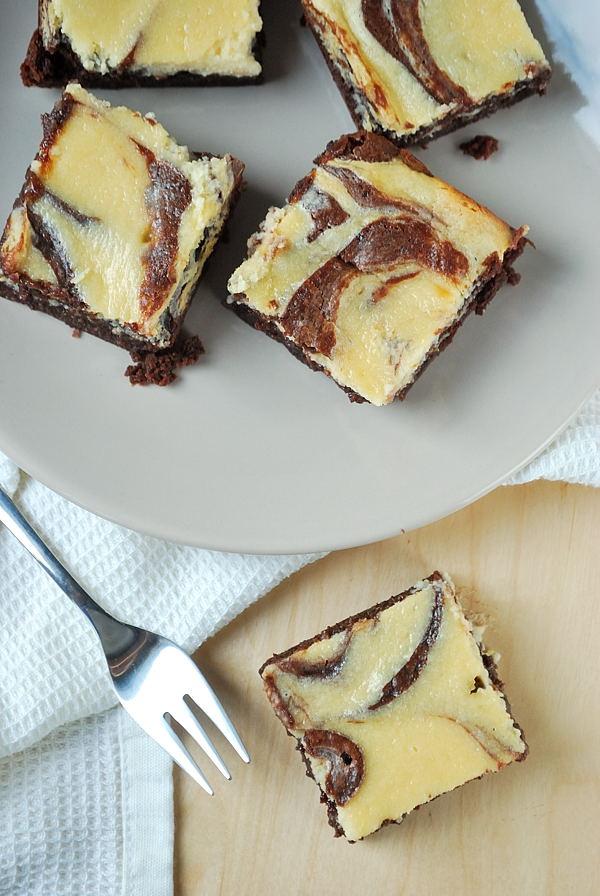 Baileys-Käsekuchen-Brownies