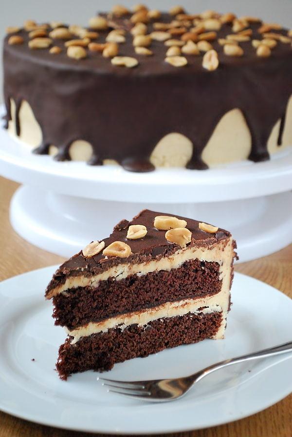 Geburtstags Bombe A K A Schoko Erdnussbutter Torte Kaffee