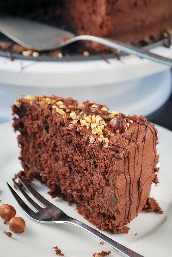 Nutella Torte Kaffee Cupcakes