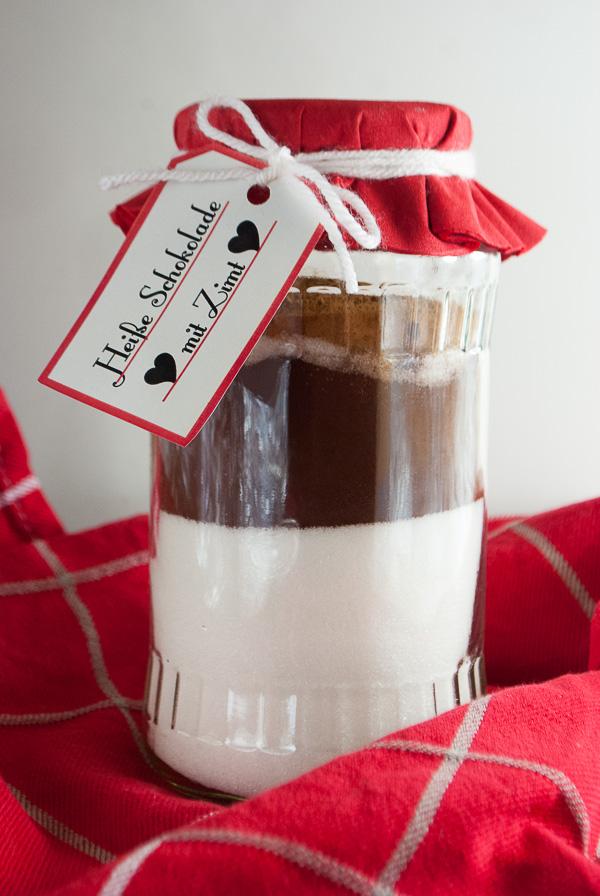 Geschenke aus der Küche: Mischung für heiße Schokolade
