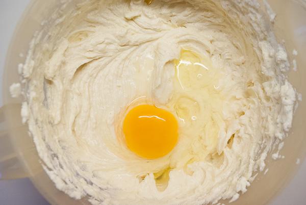 Spekulatius-Käsekuchen mit Keksboden