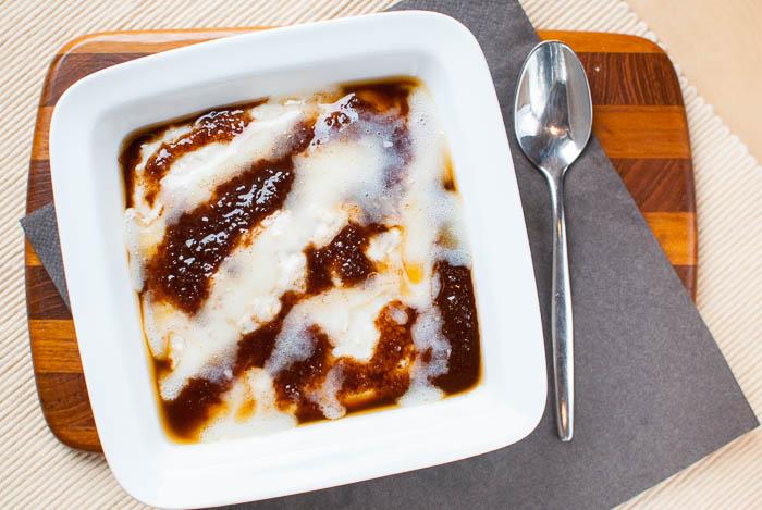 Zimtschnecken-Oatmeal