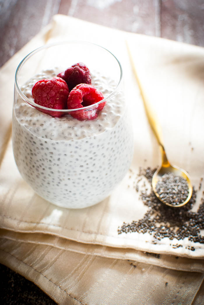 Proteinreicher Chia Pudding Mit Magerquark Grundrezept Kaffee