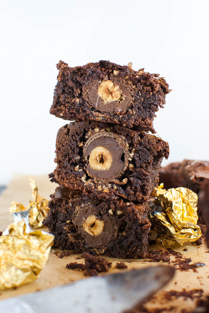 Rocher-Brownies
