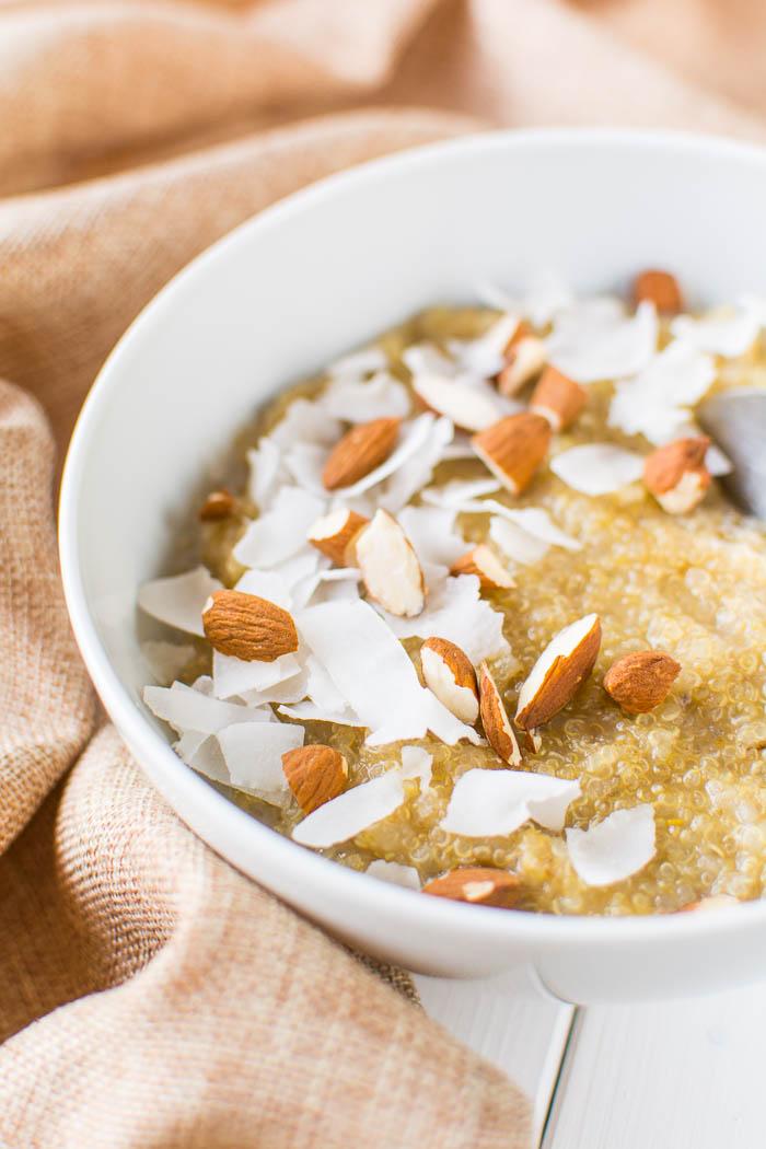 Süßer Quinoa-Frühstücksbrei: Grundrezept