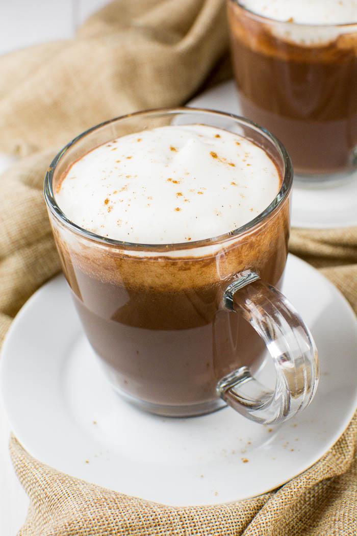Cremige heiße Schokolade