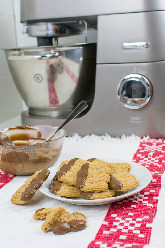 anzeige + gewinnspiel} nougat-spritzgebäck mit der kenwood chef ... - Rezepte Für Kenwood Küchenmaschine