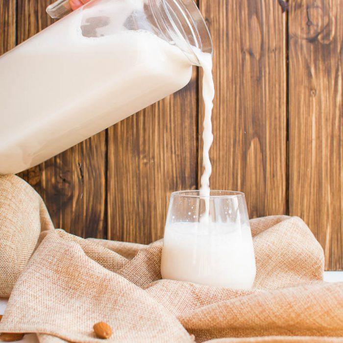 Selbstgemachte Mandelmilch: Grundrezept