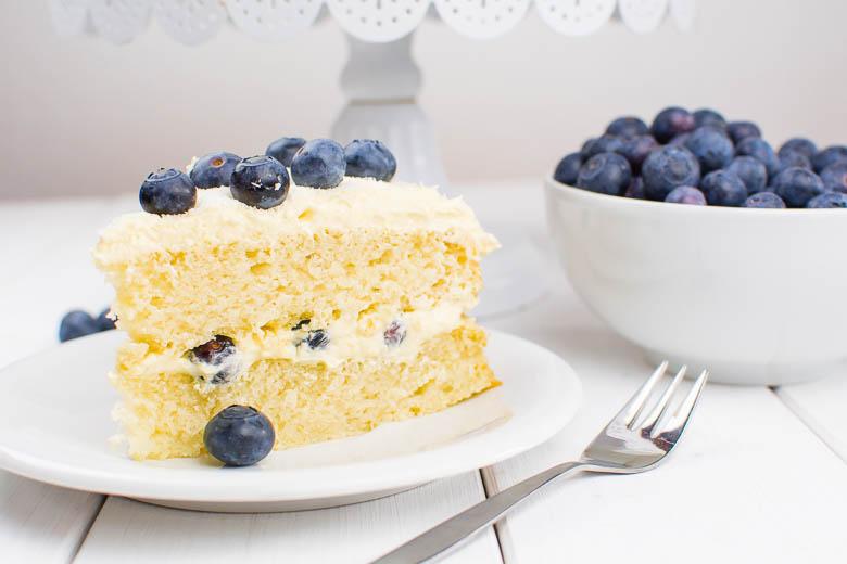 Heidelbeer-Kokos-Torte {vegan}