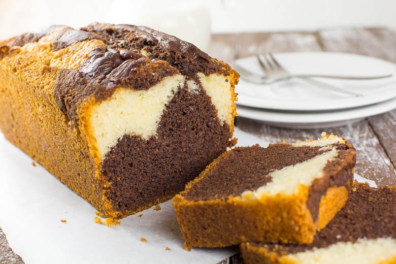 Back To Basics Perfekter Veganer Marmorkuchen Kaffee Cupcakes