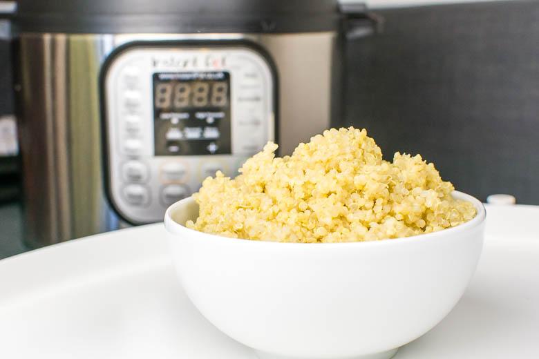 Kochen mit dem Instant Pot: Quinoa