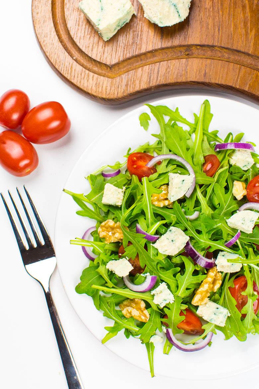Selbstgemachter veganer Gorgonzola