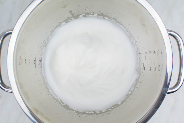 Veganer Baiser aus Aquafaba: Grundrezept