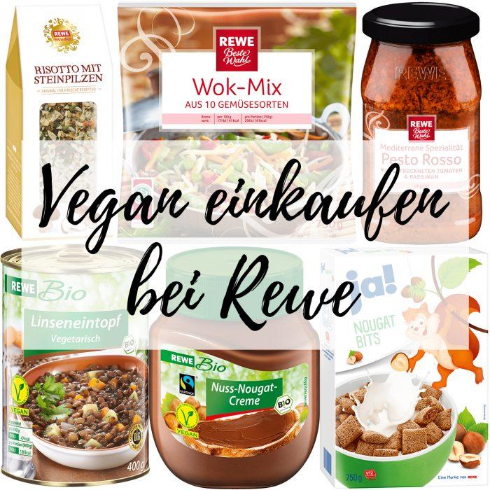 Vegan einkaufen bei Rewe
