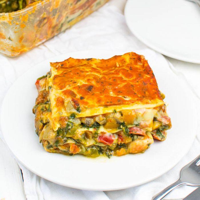Die weltbeste Gemüse-Lasagne