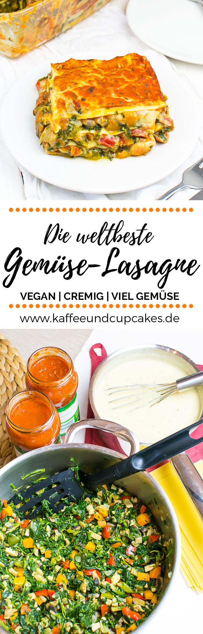 Die weltbeste Gemüse-Lasagne {vegan}