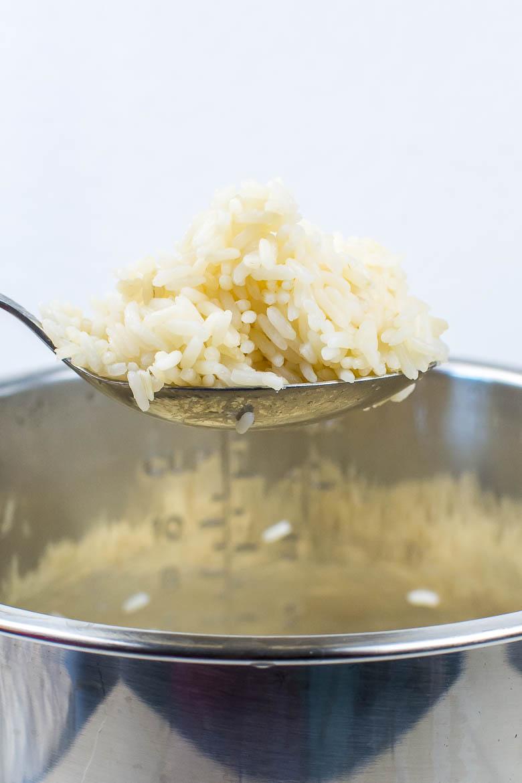 Kochen mit dem Instant Pot: Parboiled Reis
