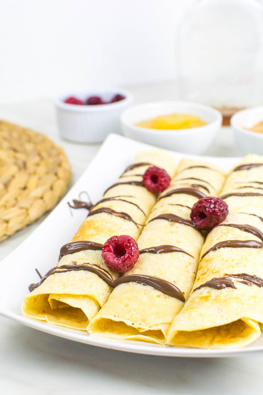 Vegane Pfannkuchen: Grundrezept