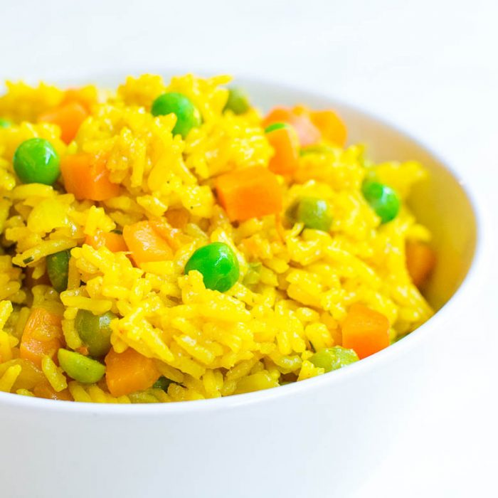 Curry-Gemüse-Reis aus dem Instant Pot