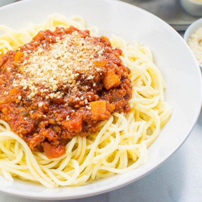 Vegane Bolognese - Mein Lieblingsrezept
